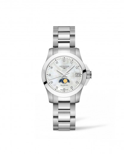 Longines Conquest Moonphase