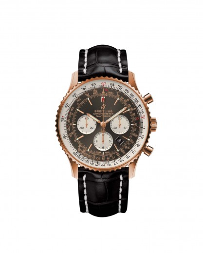 NAVITIMER 1 B01 CHRONOGRAPH 46 RED GOLD - ANTHRACITE