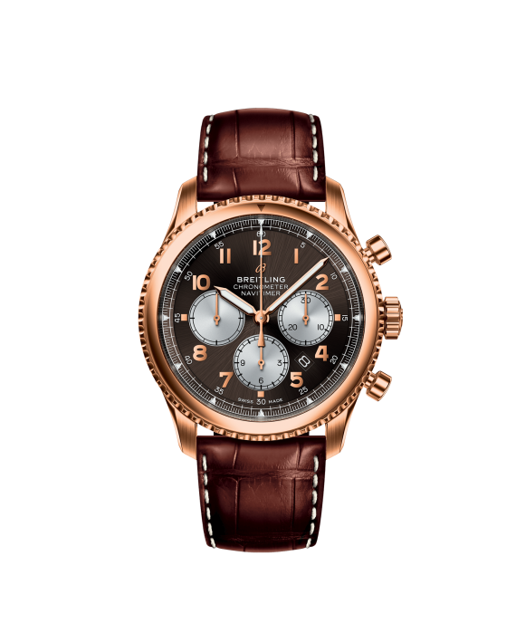 NAVITIMER 8 B01 CHRONOGRAPH 43 RED GOLD - BRONZE